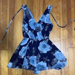 Final Touch Floral Romper